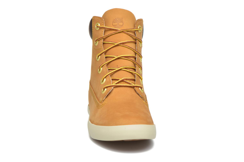 Sneaker Timberland Flannery 6in braun schuhe getragen