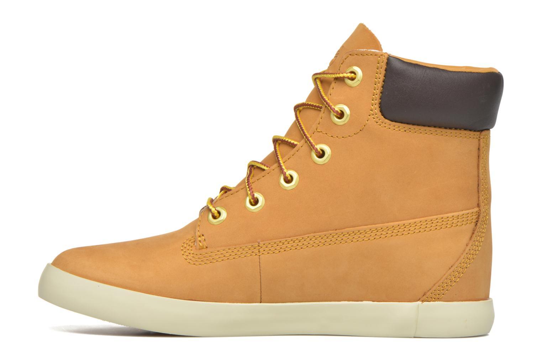 Sneaker Timberland Flannery 6in braun ansicht von vorne