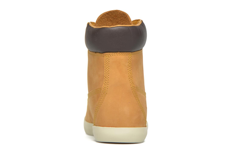 Sneaker Timberland Flannery 6in braun ansicht von rechts