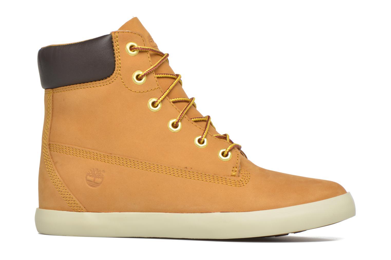 Sneaker Timberland Flannery 6in braun ansicht von hinten