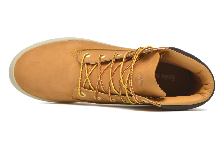 Sneaker Timberland Flannery 6in braun ansicht von links
