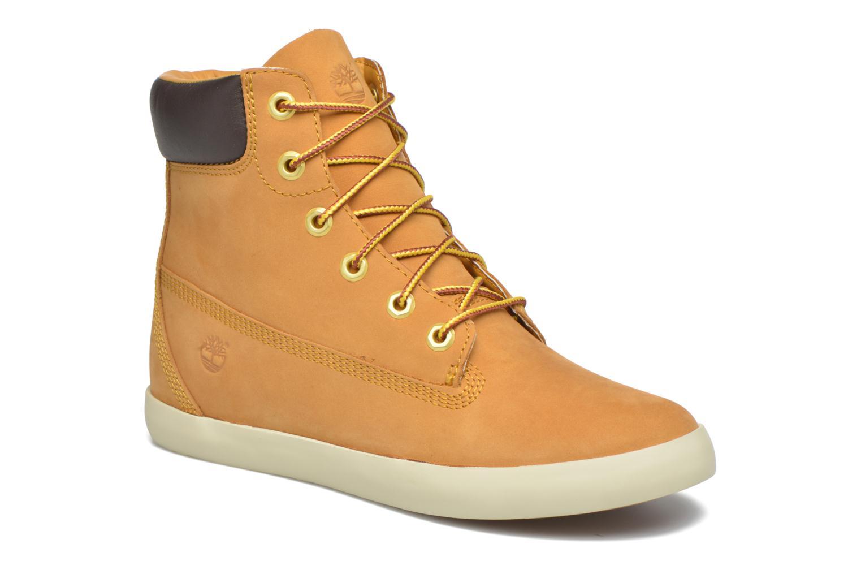 Sneaker Timberland Flannery 6in braun detaillierte ansicht/modell