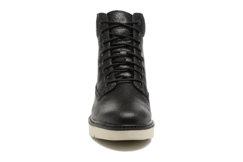 Stiefeletten & Boots Timberland Kenniston 6in Lace Up silber schuhe getragen