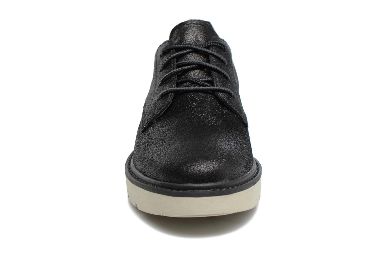 Schnürschuhe Timberland Kenniston Lace Ox schwarz schuhe getragen