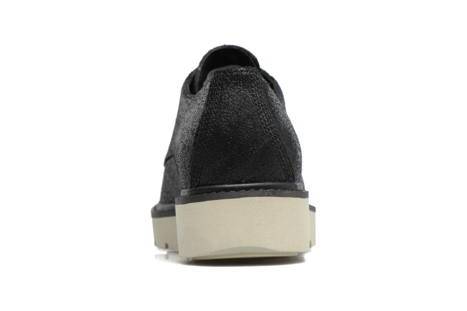 Kenniston Lace Ox Black Charred Suede