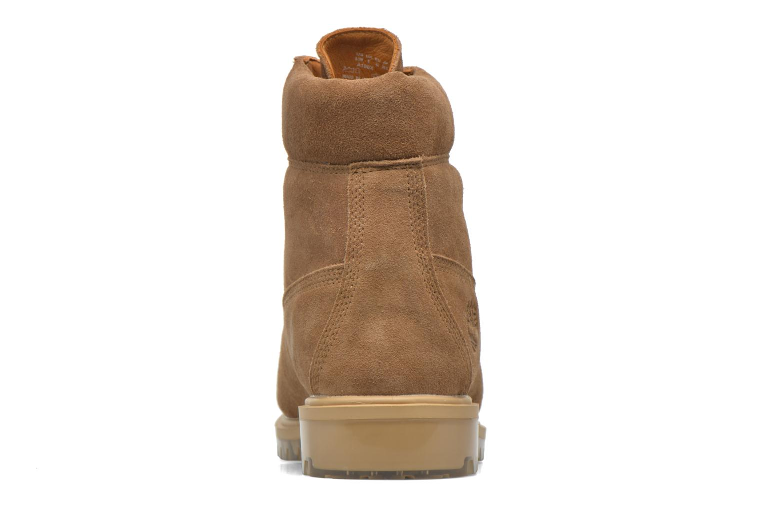 """Bottines et boots Timberland TPU 6"""" WP Suede Beige vue droite"""