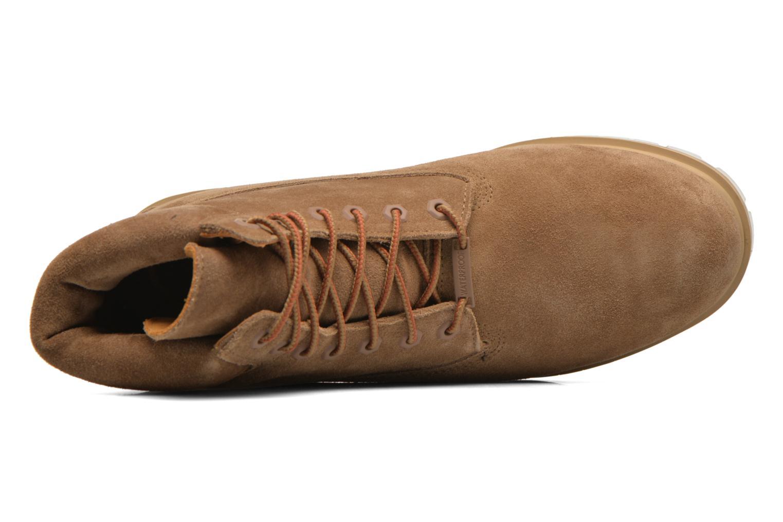 "Bottines et boots Timberland TPU 6"" WP Suede Beige vue gauche"