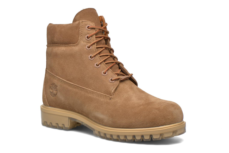 "Bottines et boots Timberland TPU 6"" WP Suede Beige vue détail/paire"