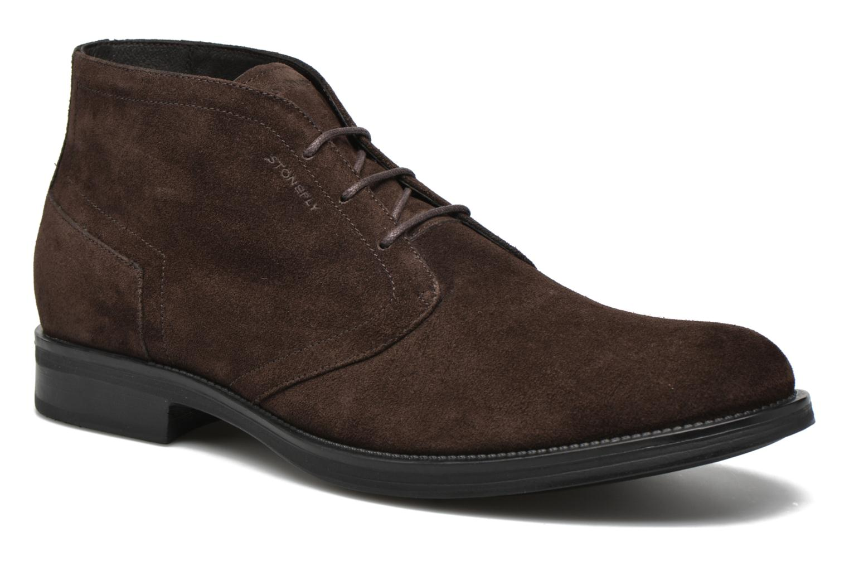 Zapatos con cordones Stonefly Class 11 Azul vista de detalle / par