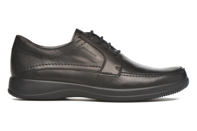 Zapatos con cordones Stonefly Season III 2 BIS Negro vistra trasera