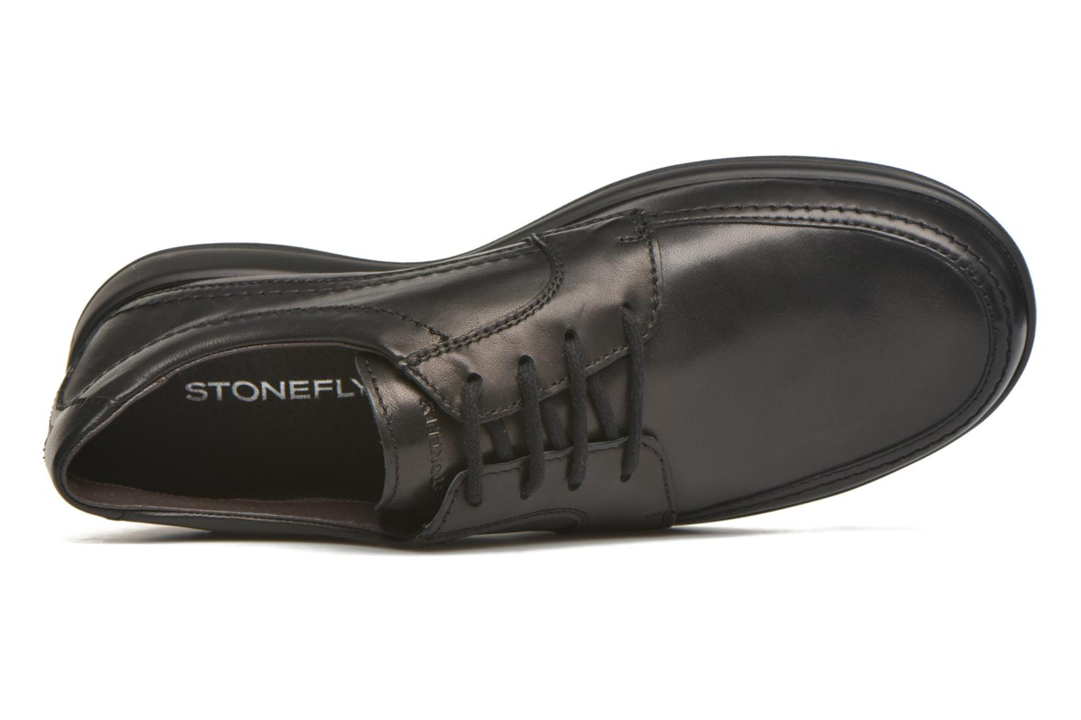 Lace-up shoes Stonefly Season III 2 BIS Black view from the left