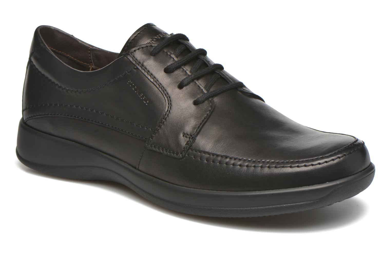 Zapatos con cordones Stonefly Season III 2 BIS Negro vista de detalle / par