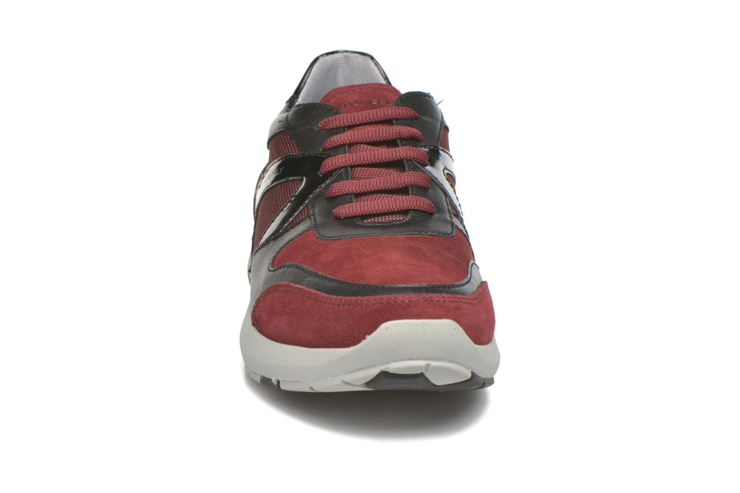 Baskets Stonefly Force man 1 Rouge vue portées chaussures