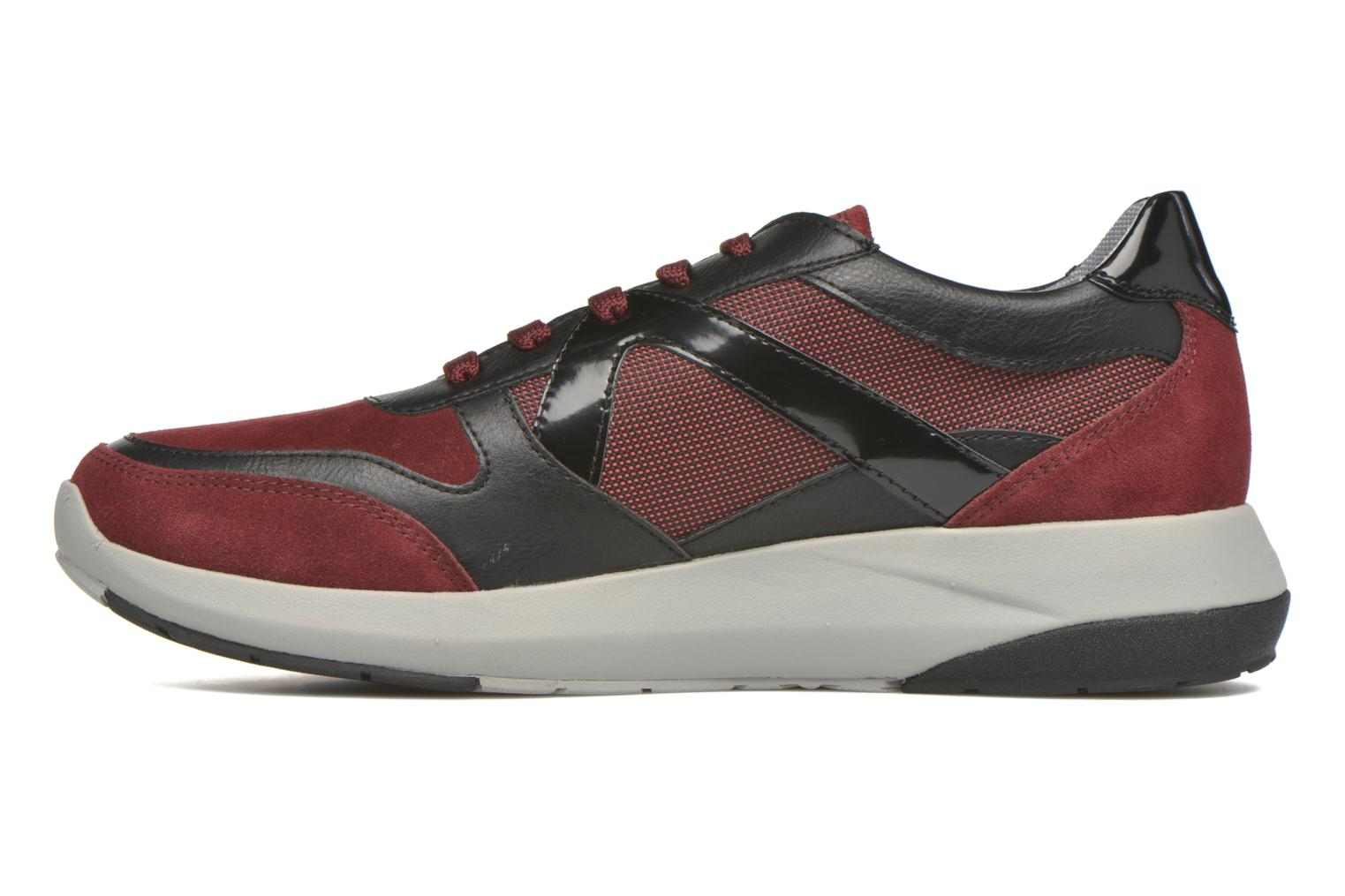 Baskets Stonefly Force man 1 Rouge vue face