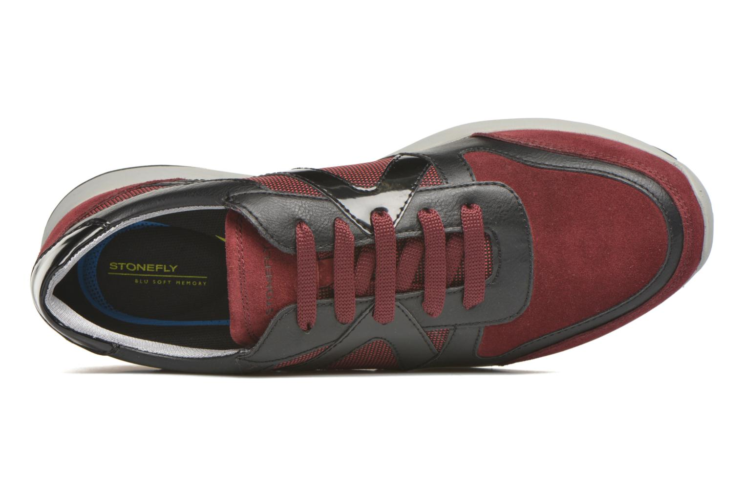 Baskets Stonefly Force man 1 Rouge vue gauche