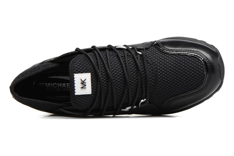 Sneaker Michael Michael Kors Scout Trainer schwarz ansicht von links