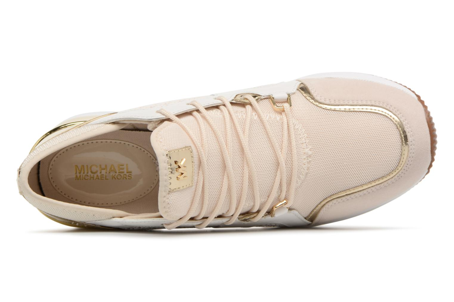 Trainers Michael Michael Kors Scout Trainer Beige view from the left