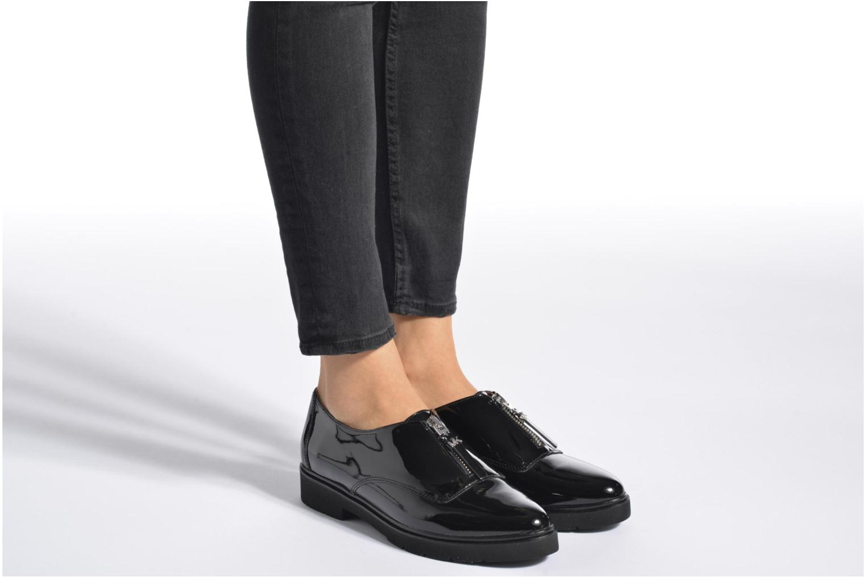 Slipper Michael Michael Kors Dawson Loafer schwarz ansicht von unten / tasche getragen