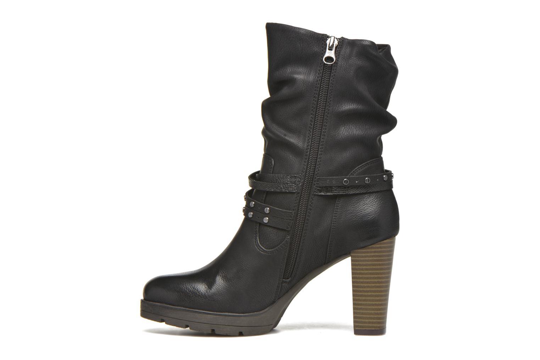 Bottines et boots Tom Tailor Lucie Noir vue face