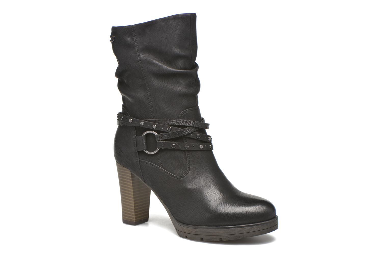 Bottines et boots Tom Tailor Lucie Noir vue détail/paire