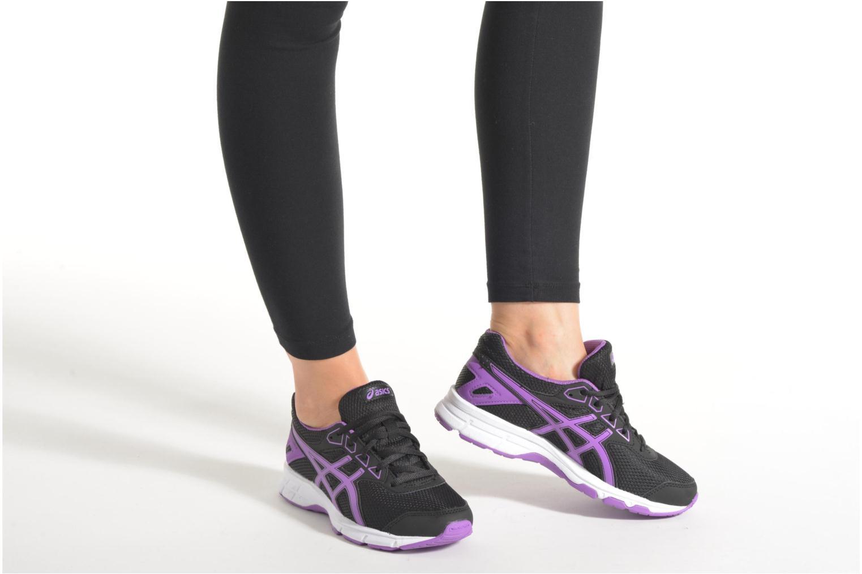 Chaussures de sport Asics Gel-Galaxy 9 GS Rose vue bas / vue portée sac