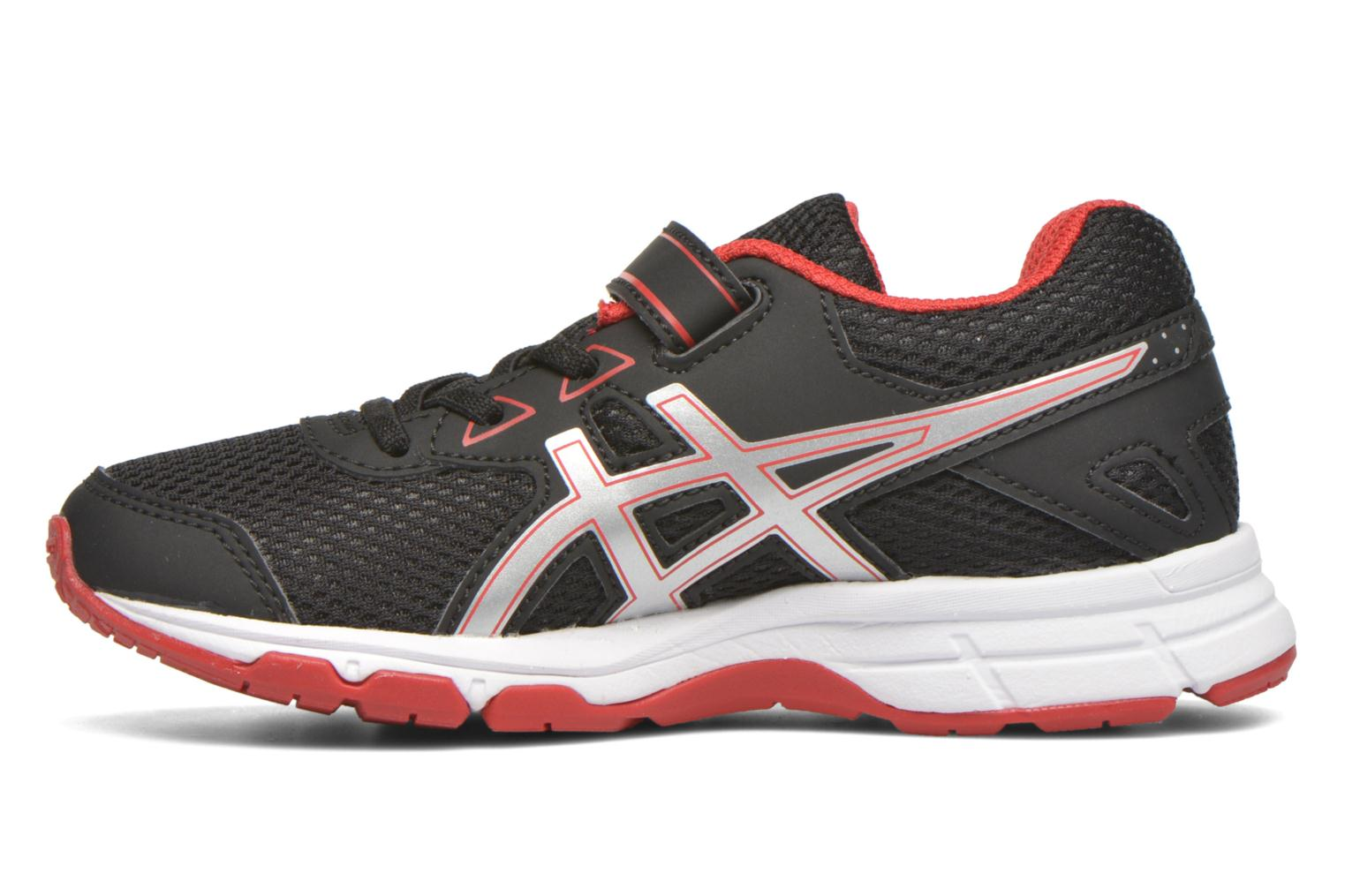 Sport shoes Asics Pre Galaxy 9 PS Black front view