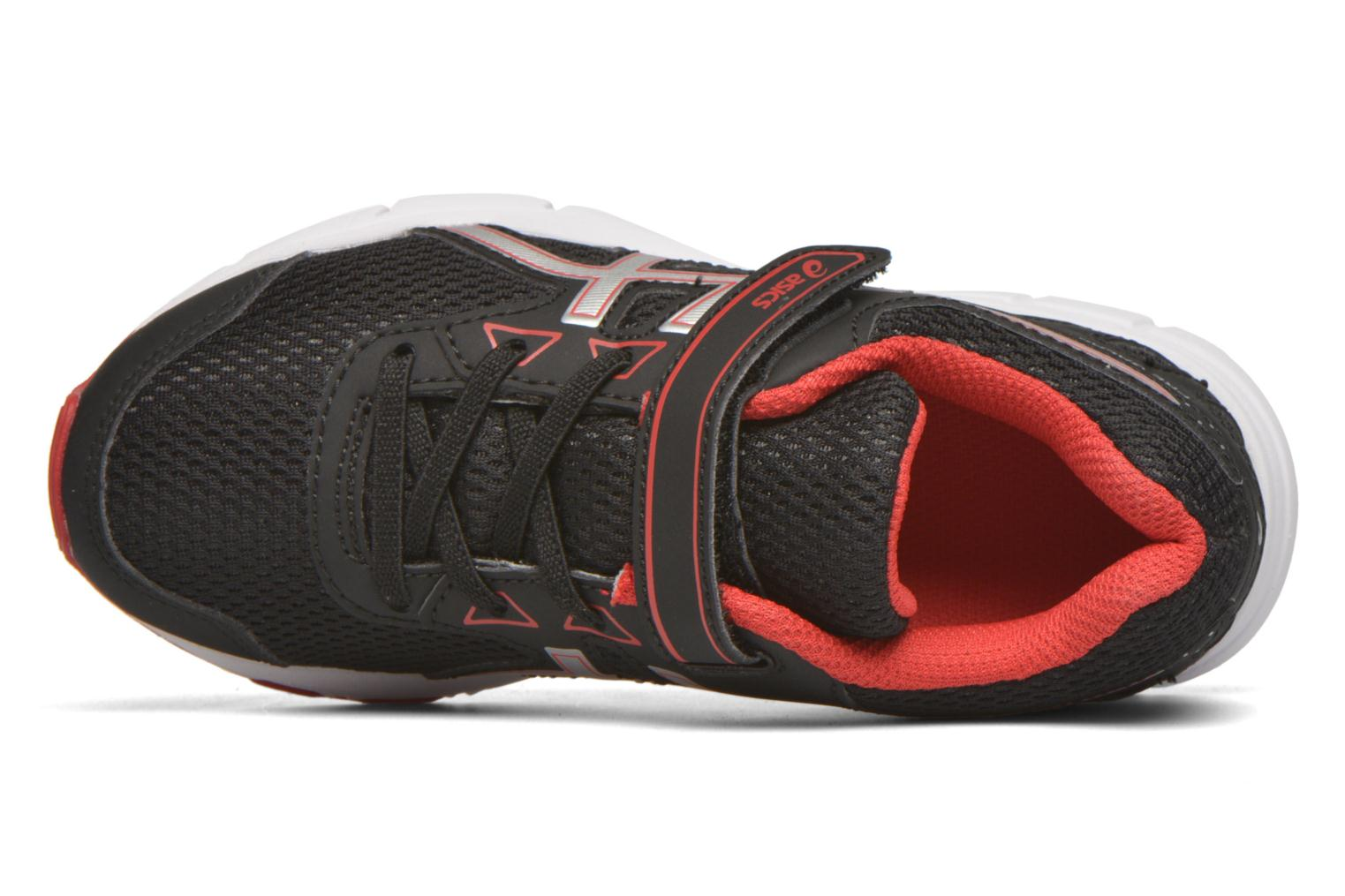 Sport shoes Asics Pre Galaxy 9 PS Black view from the left