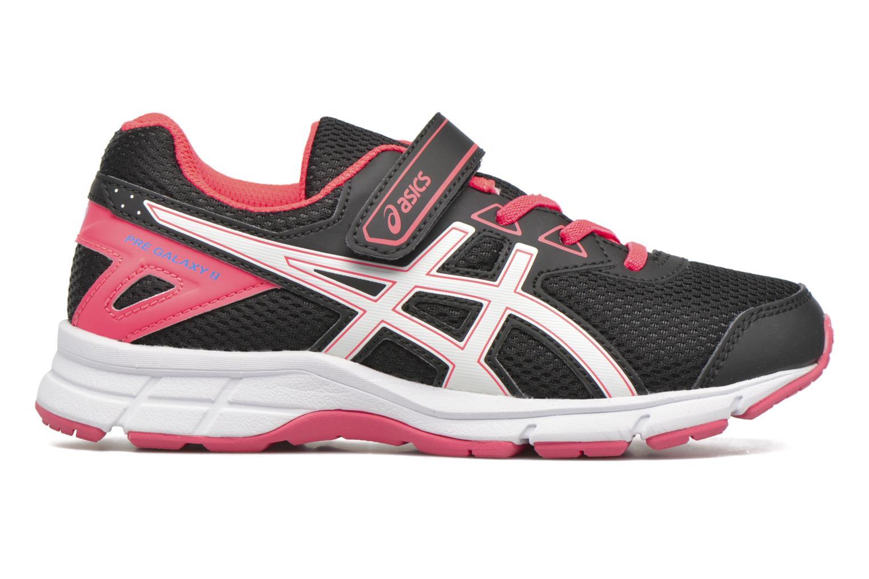 Sport shoes Asics Pre Galaxy 9 PS Black back view