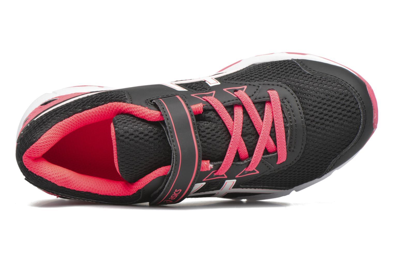 Chaussures de sport Asics Pre Galaxy 9 PS Noir vue gauche