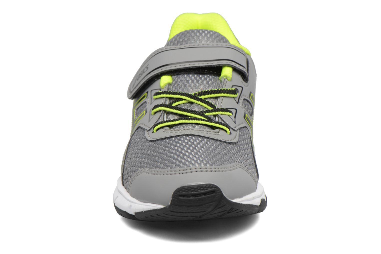 Sportschuhe Asics Pre Galaxy 9 PS grau schuhe getragen