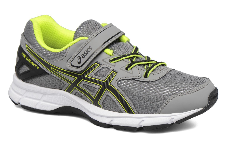 Chaussures de sport Asics Pre Galaxy 9 PS Gris vue détail/paire
