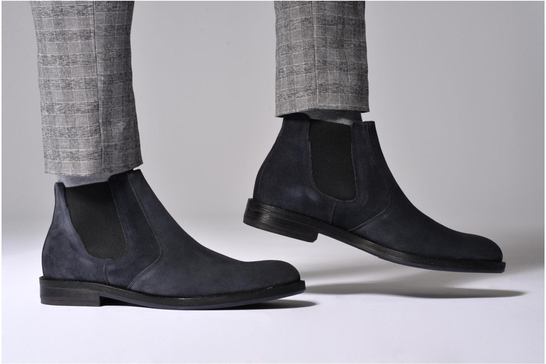 Bottines et boots Mr SARENZA Nethway Bleu vue bas / vue portée sac