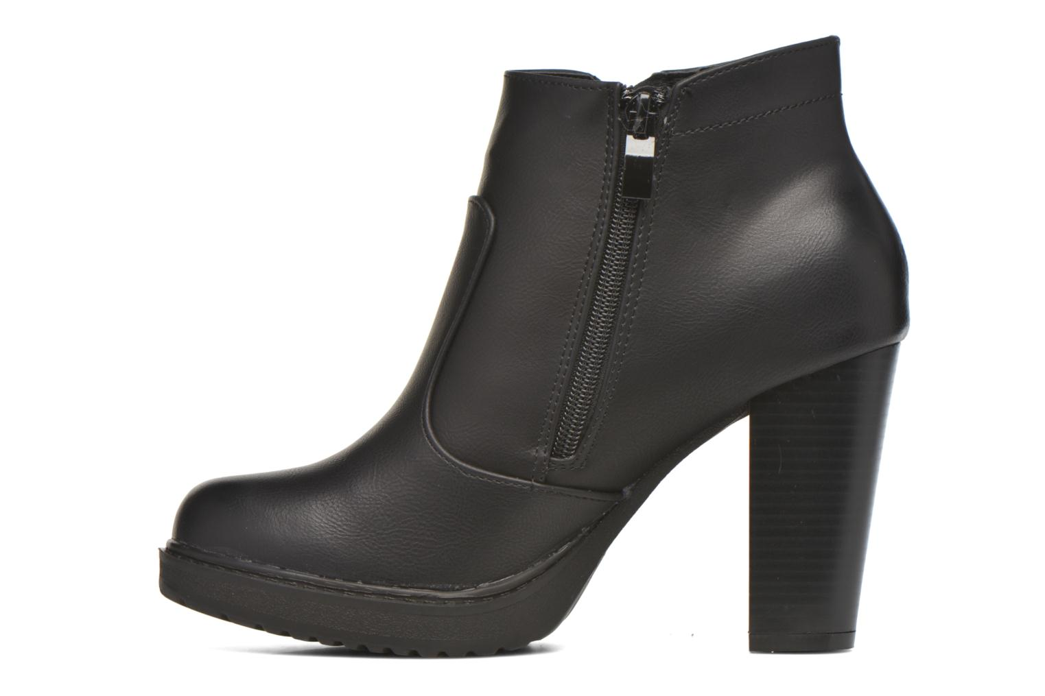 Bottines et boots Eclipse Bottine Leo Noir vue face
