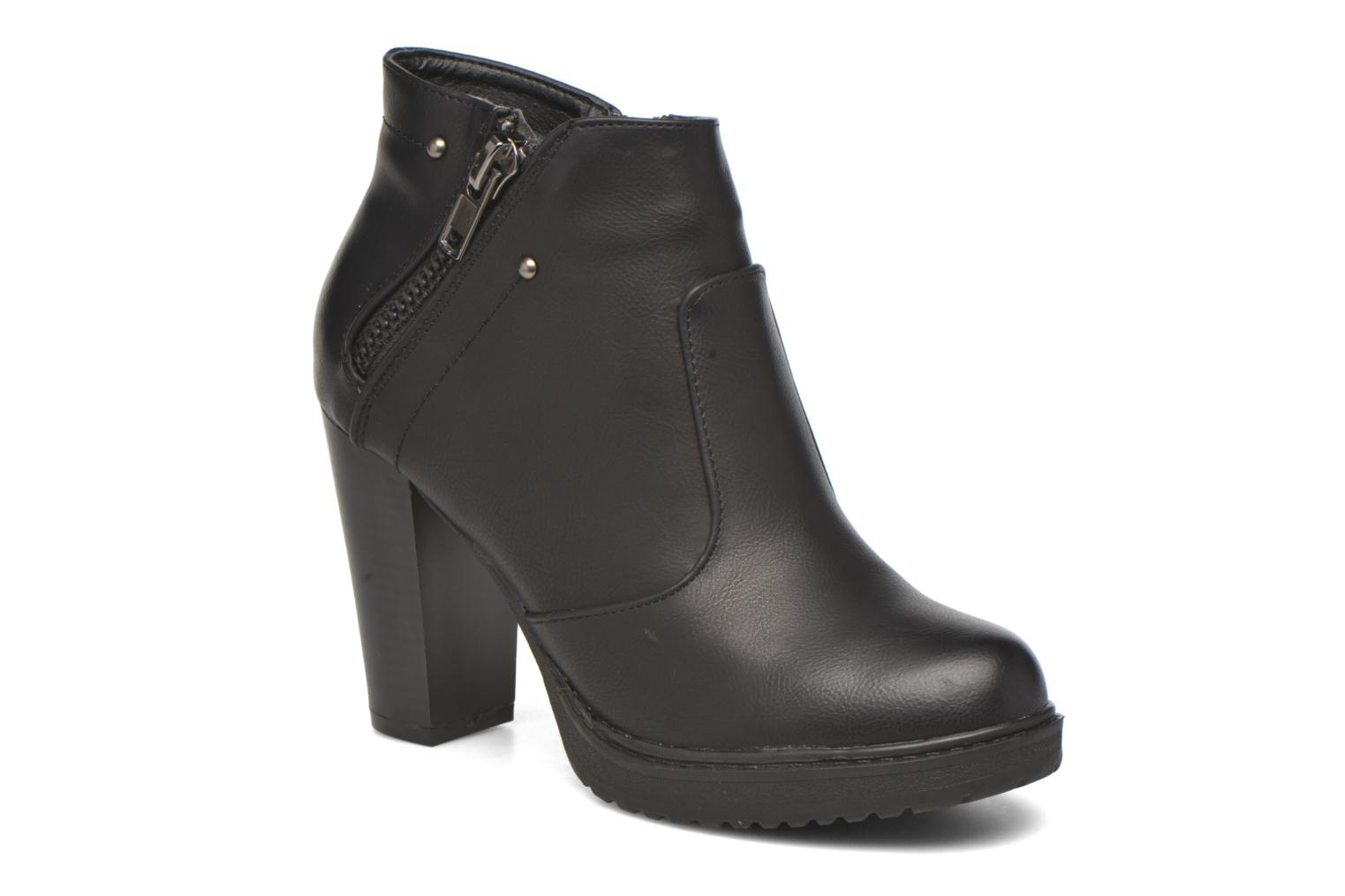 Ankle boots Eclipse Bottine Leo Black detailed view/ Pair view
