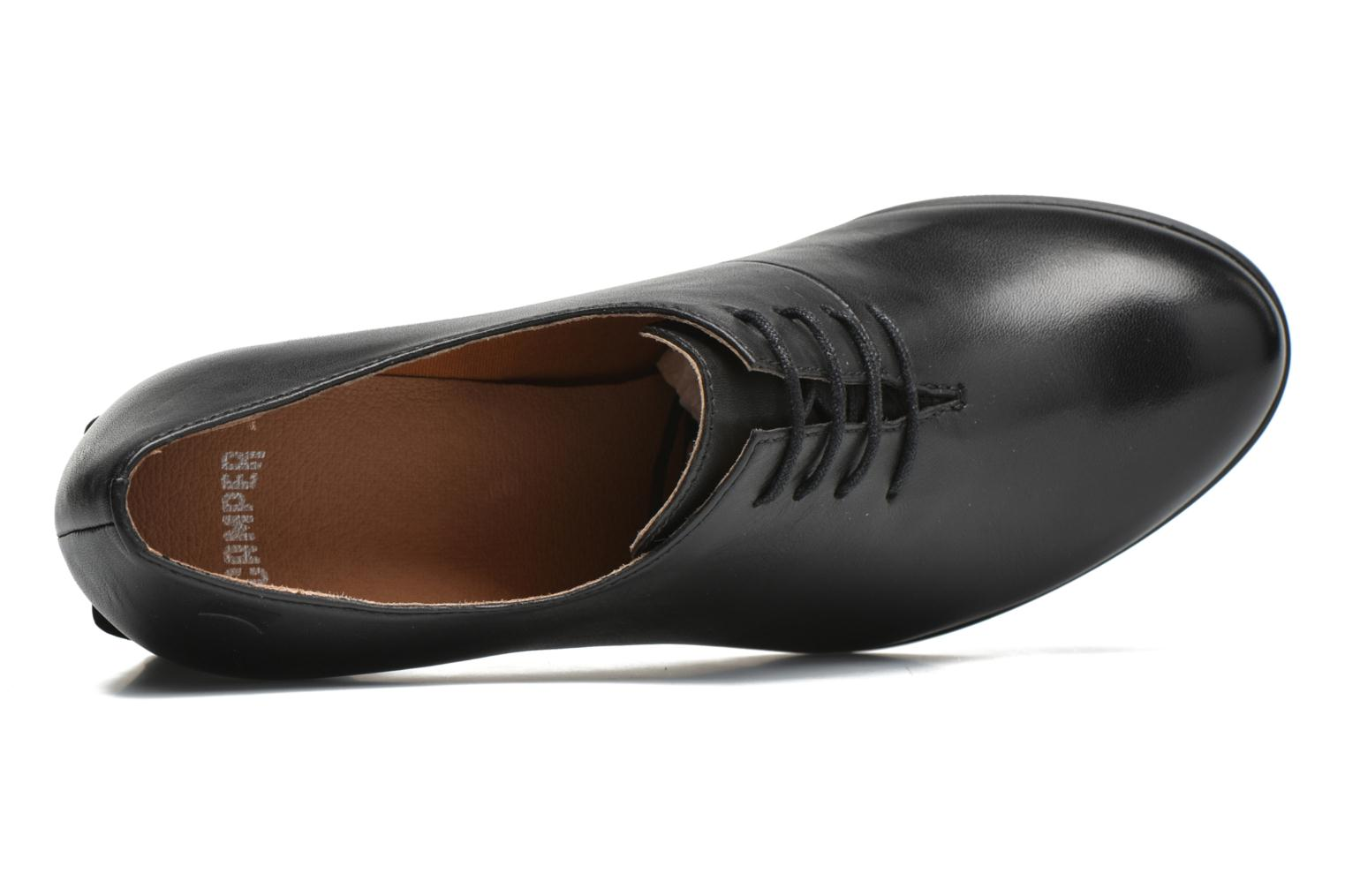 Lace-up shoes Camper Lea K200213 Black view from the left