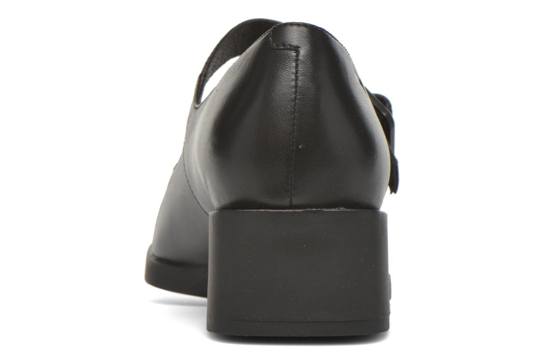 Bailarinas Camper Kobo K200218 Negro vista lateral derecha