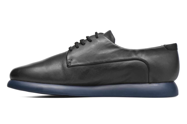 Chaussures à lacets Camper Monday K200249 Noir vue face