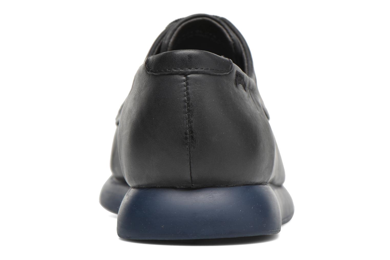 Chaussures à lacets Camper Monday K200249 Noir vue droite