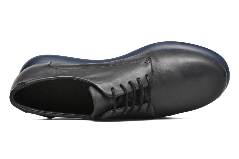 Chaussures à lacets Camper Monday K200249 Noir vue gauche