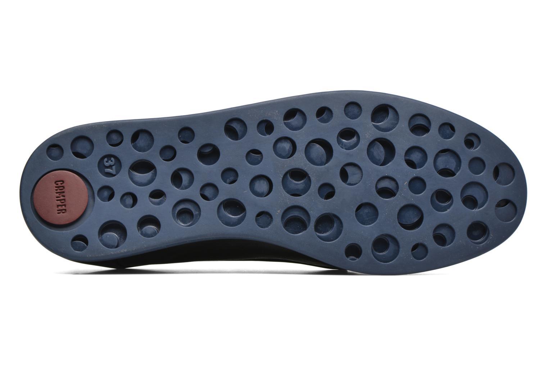 Chaussures à lacets Camper Monday K200249 Noir vue haut