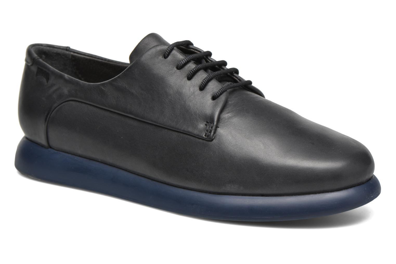 Chaussures à lacets Camper Monday K200249 Noir vue détail/paire