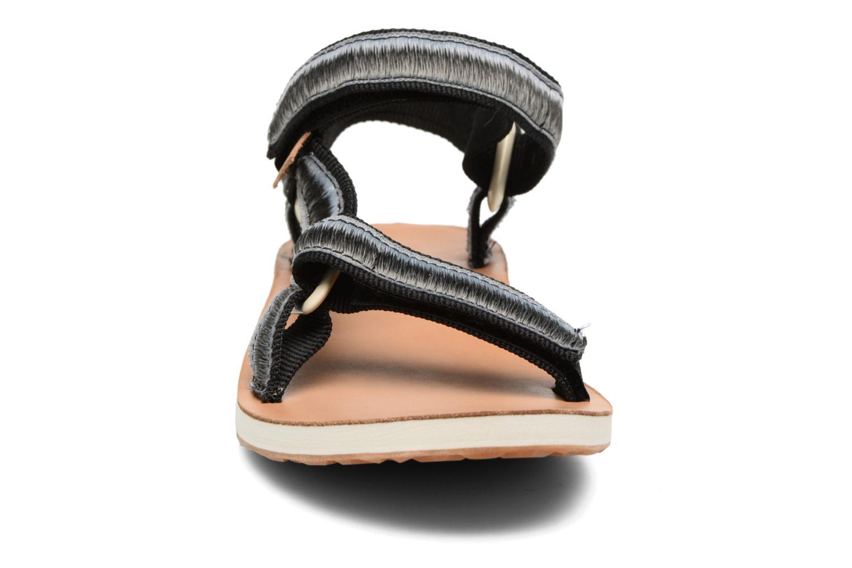 Sandales et nu-pieds Teva Original Universal Ombre Noir vue portées chaussures
