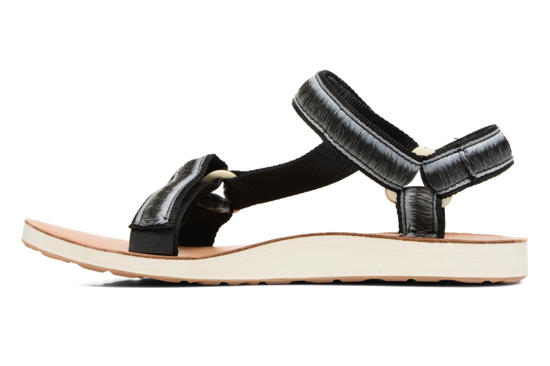 Sandales et nu-pieds Teva Original Universal Ombre Noir vue face
