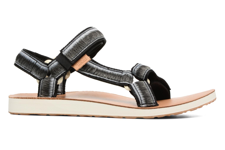 Sandales et nu-pieds Teva Original Universal Ombre Noir vue derrière