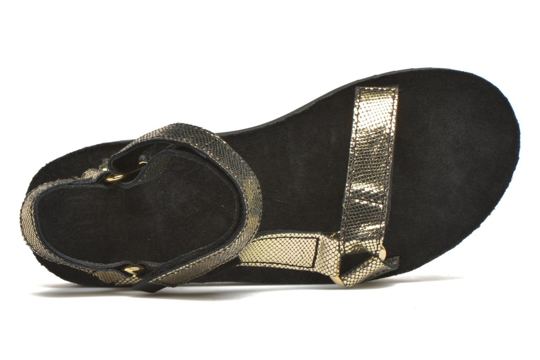 Sandales et nu-pieds Teva Flatform Universal Radiant Or et bronze vue gauche
