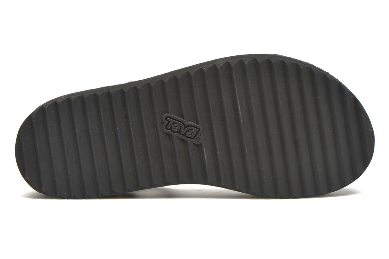 Sandales et nu-pieds Teva Flatform Universal Radiant Or et bronze vue haut