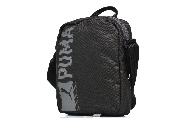 Bolsos de hombre Puma Puma Pioneer Portable Crossbody Negro vista del modelo