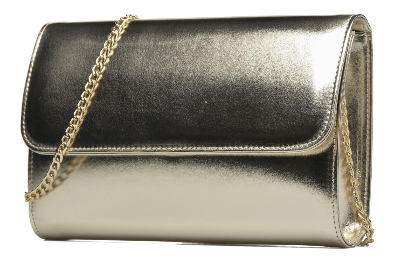 Sacs pochettes COSMOPARIS EDILA/MET Sac pochette Or et bronze vue portées chaussures