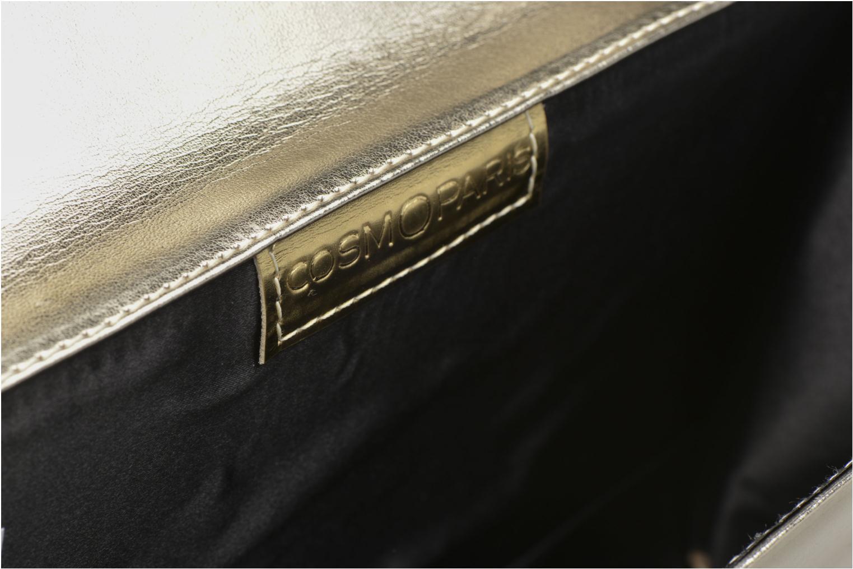 Sacs pochettes COSMOPARIS EDILA/MET Sac pochette Or et bronze vue derrière