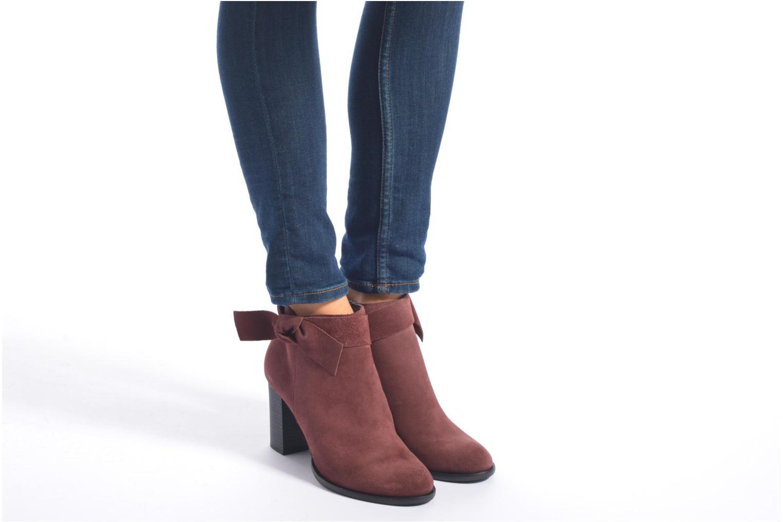 Bottines et boots Vero Moda Fena Leather Boot Noir vue bas / vue portée sac